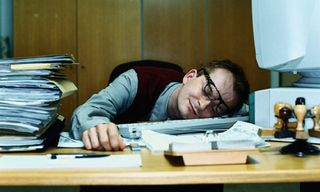 Sleepingatdesk